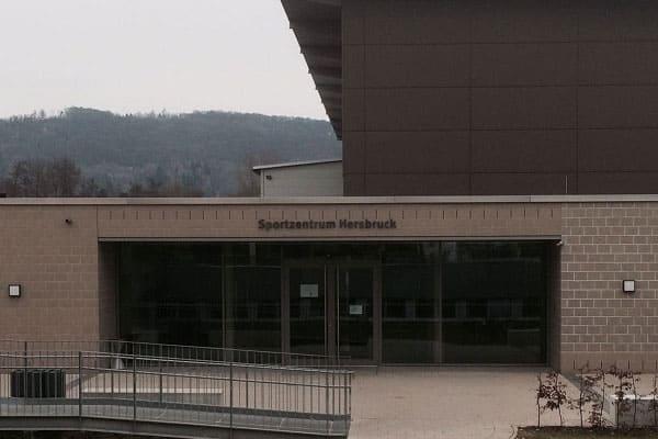 Sportzentrum Hersbruck außen