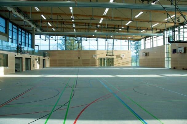 Sportzentrum Hersbruck innen